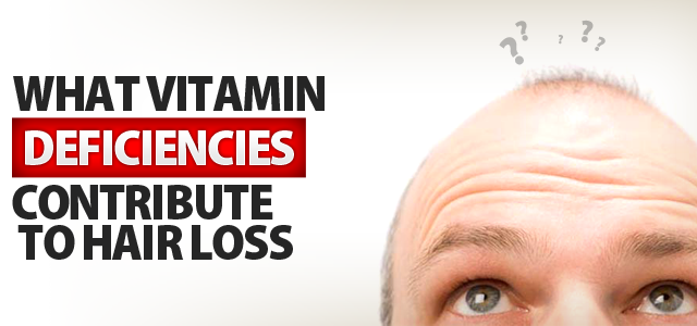 vitamin deficiency hair loss